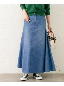 【SALE/30%OFF】Sonny Label フレアデニムマキシスカート サニーレーベル スカート スカートその他 ブルー【送料無料】