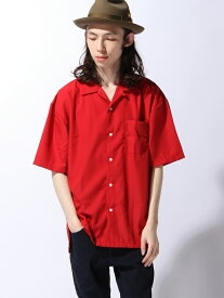 ZIP FIVE オープンカラービッグシャツ ジップファイブ シャツ/ブラウス