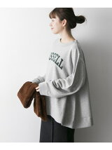 RUSSELL×k3&co. PRINT SWEAT TOP