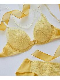 【SALE/40%OFF】une nana cool Fleur handkerchief 3/4カップブラジャー ウンナナクール インナー/ナイトウェア ブラジャー イエロー ブルー レッド