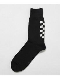【SALE/10%OFF】ROSTER SOX NAVIN ナノユニバース ファッショングッズ ソックス/靴下 ブラック カーキ ホワイト
