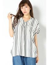 (L)E/surabuウシロZIPシャツ