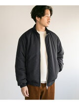 NYLON PUFF TRACK JACKET