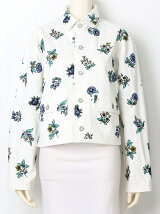 FLOWER EMBROIDERY JKT