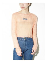 Mohair 90's Knit Top