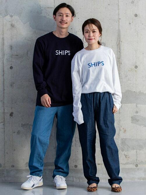 【SHIPS別注】MACOBER: シェフ パンツ ライト デニム