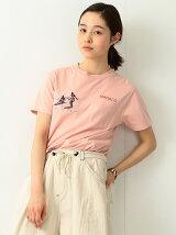 SUN SURF×BEAMS BOY / 刺繍 Tシャツ