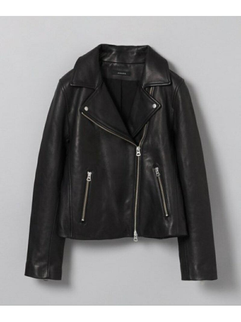 JEANASiS W Leather Jacket ジーナシス コート/ジャケット【送料無料】