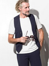 AKM Contemporary/seersucker gillet