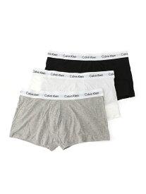 Calvin Klein Underwear (M)カルバン クライン 【カルバン クライン アンダーウェア】 ローライズ ボクサーパンツ メンズ カルバン・クライン インナー/ナイトウェア ボクサーパンツ/トランクス ブラック ホワイト【送料無料】