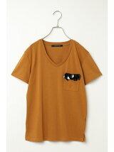 (L)ジュエルポケットTシャツ