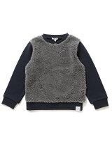 【予約】ビーミング by ビームス / ボア切替スウェットシャツ 17AW BEAMS