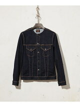ONE WASH NO COLLAR G-JACKET