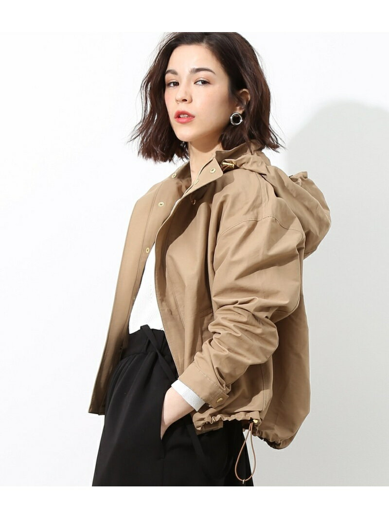 ROPE' mademoiselle グログランマウンテンパーカー ロペ コート/ジャケット【送料無料】