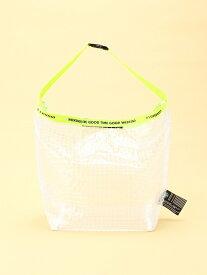 WEEKEND(ER) WEEKEND(ER)/(U)PVD rolltop shoulder bag ゴースローキャラバン バッグ ショルダーバッグ ホワイト
