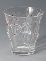 EK15 イチゴ柄グラス