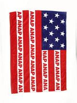 ANAPANAPロゴアメリカンフラッグブランケット