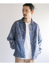 VOTE MAKE NEW CLOTHES 3D FAT DENIM JACKET
