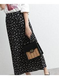 【SALE/60%OFF】[洗える]花柄ナローマキシスカート オゾック スカート【RBA_S】【RBA_E】