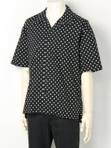 DOT OPEN COLLAR SHIRTS S/S
