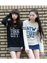 "*""NEW YORK CITY""ニット"