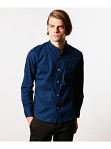 STAND COLLAR MINIMUM WORK SHIRT