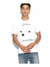 スター刺繍Tシャツ