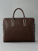 (M)オティアス/アンティーク仕上げ合皮ビジネスバッグ