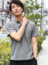 ◎BIRDS/EYE ボタンダウン ポロシャツ<機能性素材>