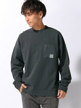 BRUSHED LOOPBACK PULLOVER