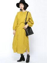 衿刺繍3WAYスモックワンピース