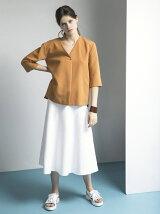 Chicミモレフレアースカート
