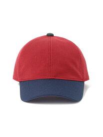 BEAMS BOY BEAMS BOY / カラーコンビ キャップ 帽子 バイカラー カジュアル ベーシック 男女兼用 新作 人気 メンズライク アクセント 無地 ソリッドカラー シンプ