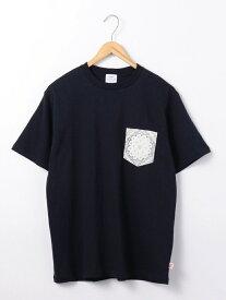 【SALE/50%OFF】USAコットンバンダナ柄ポケットTシャツ コーエン カットソー【RBA_S】【RBA_E】