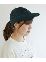 【NEW ERA】Synthetic suede CAP