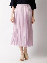 【WEB限定大きいサイズ】プリーツマキシ丈スカート