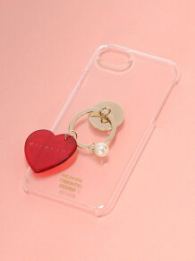 CLEAR HEART RING IPHONE CASE