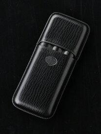 AURORA アウロラ ペンケース・シガー 3本用 ブラック P106-11 アウロラ ファッショングッズ【送料無料】