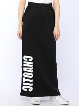 SWEAT MAXI SKIRT