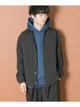 URBAN RESEARCH iD WOOLLY COACH JACKET