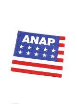 ANAP ANAP25TH国旗柄フェイスタオル