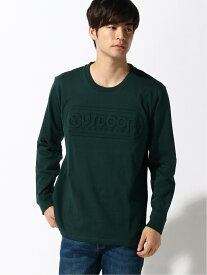 OUTDOOR PRODUCTS OUTDOOR PRODUCTS/(M)【OUTDOOR PRODUCTS】エンボスロゴロングスリーブTシャツ ジーンズメイト カットソー Tシャツ グリーン ブラック ブルー ホワイト レッド