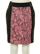 花柄JQ×ポンチスカート