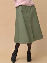 コットンツイルカーゴスカート