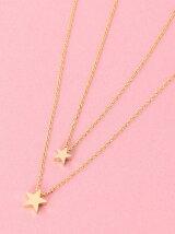 W Star Necklace