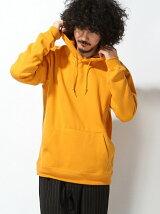 【WEGO】【BROWNY】(M)カラー起毛プルパーカー