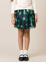 kidsドットスカート