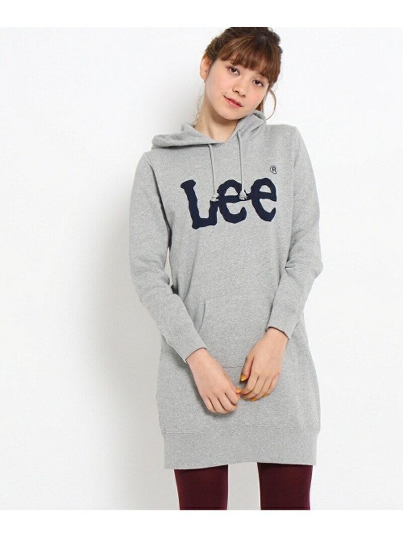 【SALE/30%OFF】Couture brooch Lee ロゴスウェットワンピース クチュールブローチ ワンピース【RBA_S】【RBA_E】【送料無料】