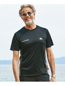 【SALE/40%OFF】QUIKSILVER x WillLOUNGE QUIKSILVERxWLG水陸両用TEES/S ナノユニバース カットソー Tシャツ ブラック ホワイト