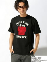 LOWBLOW KNUCKLE/(M)スリーピングSNOOPY Tシャツ